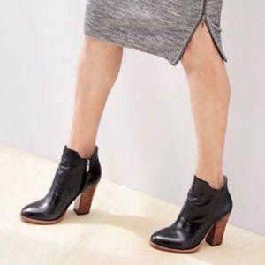 Halogen Brynn Bootie Black Leather 8